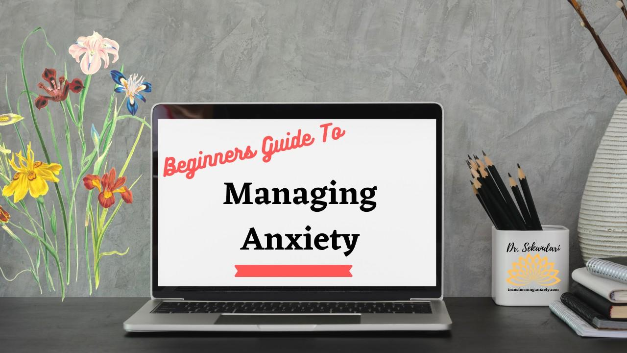 Beginner's Guide To Managing Anxiety Image