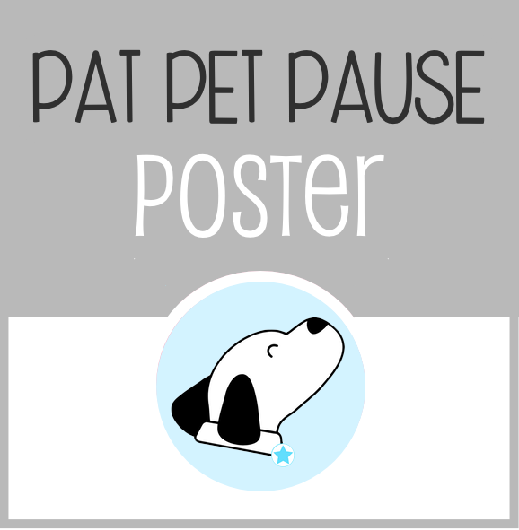 The Family Dog - Pat Pet Pause Poster