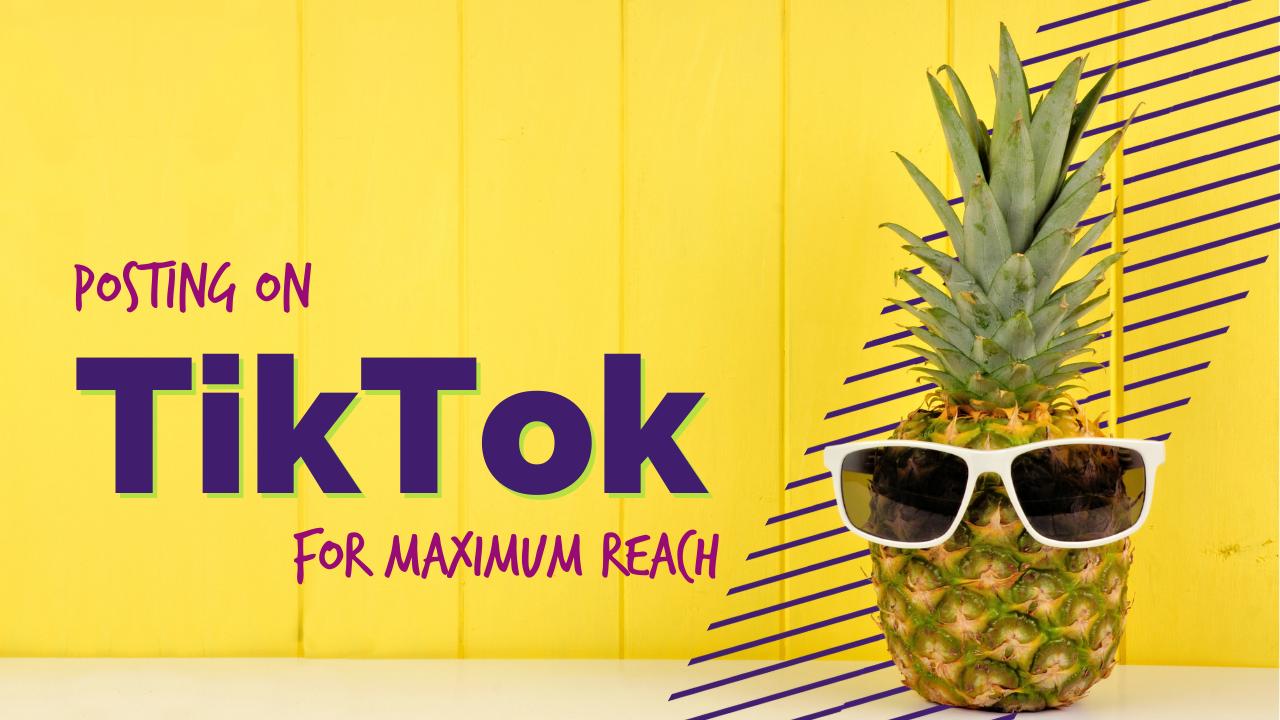 Posting on Tiktok