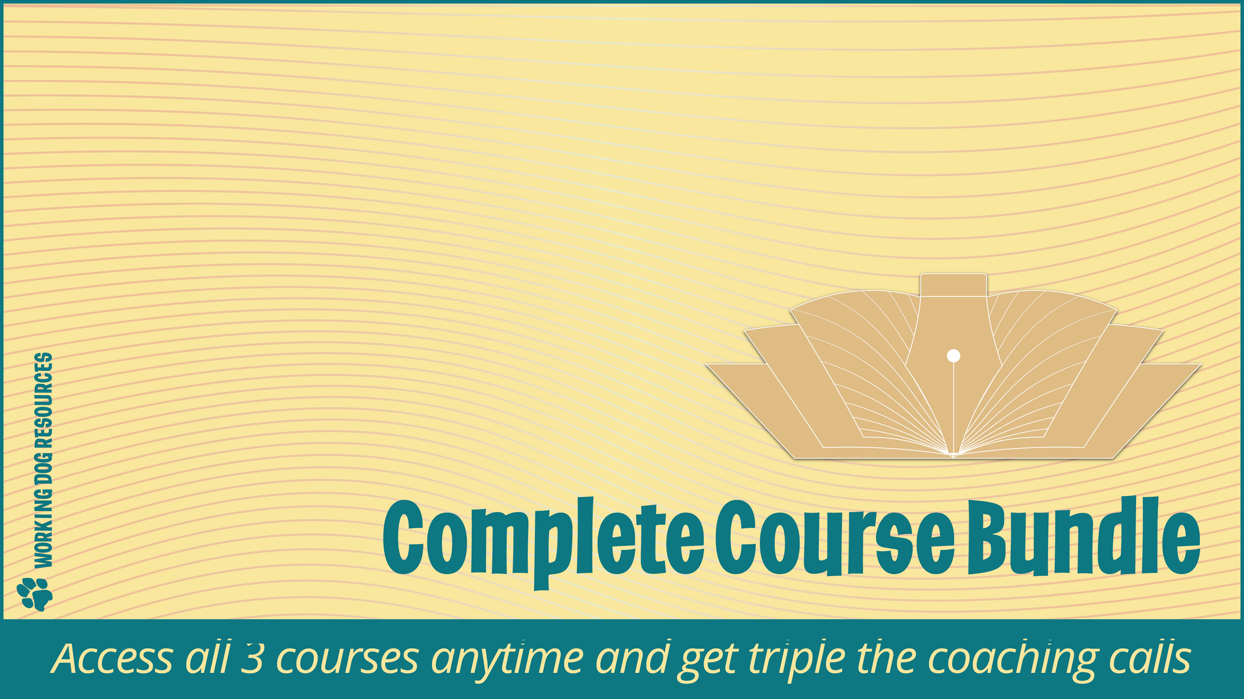 Working Dog Resources complete course bundle