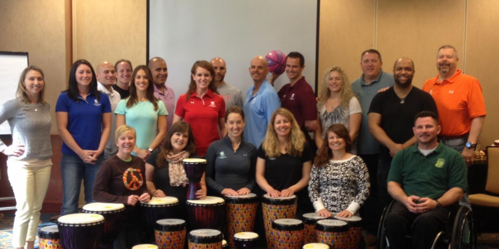 Mike Veny & the Wounded Warrior Project's Physical Health & Wellness Team.