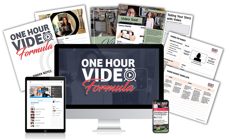 One Hour Video Formula - Get Confident on Camera
