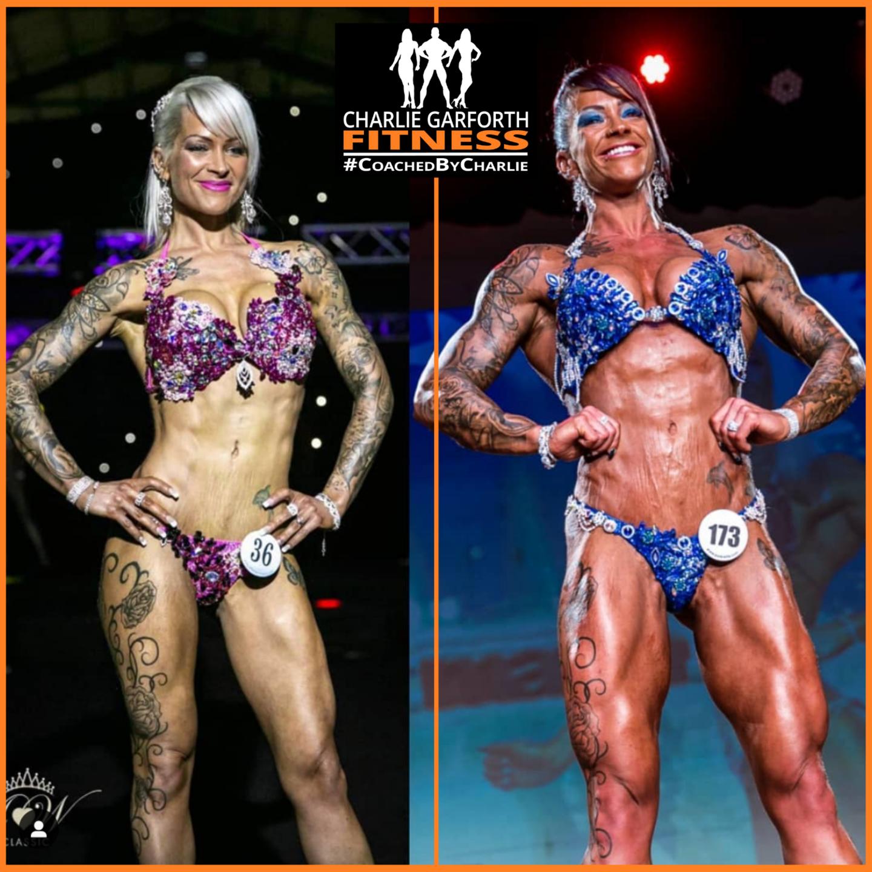 Comp prep bodybuilding stage transformation