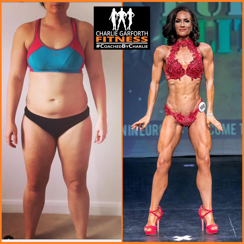 fitness model bodybuilder coach transformation
