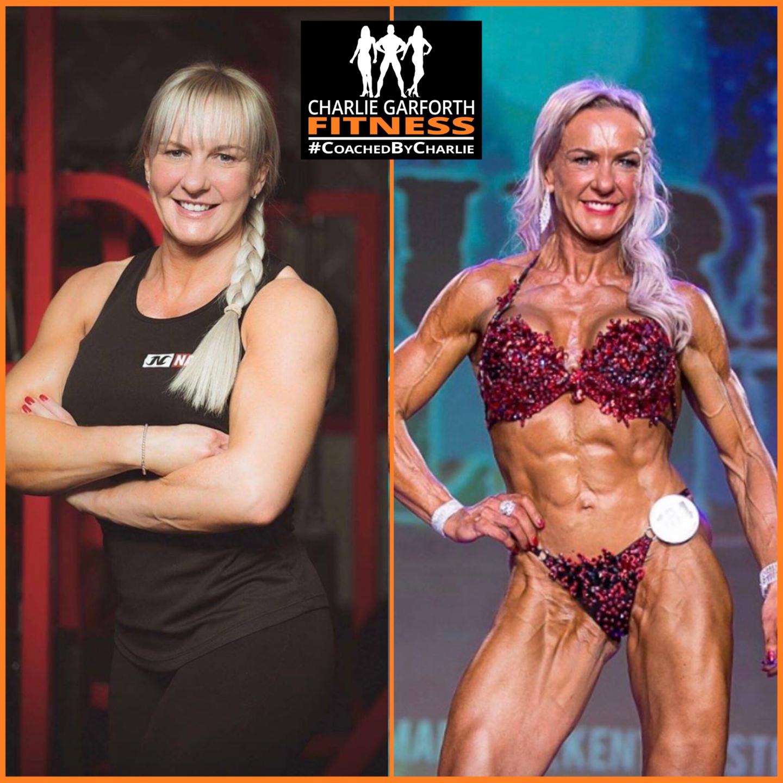 womens physique bodybuilding transformation