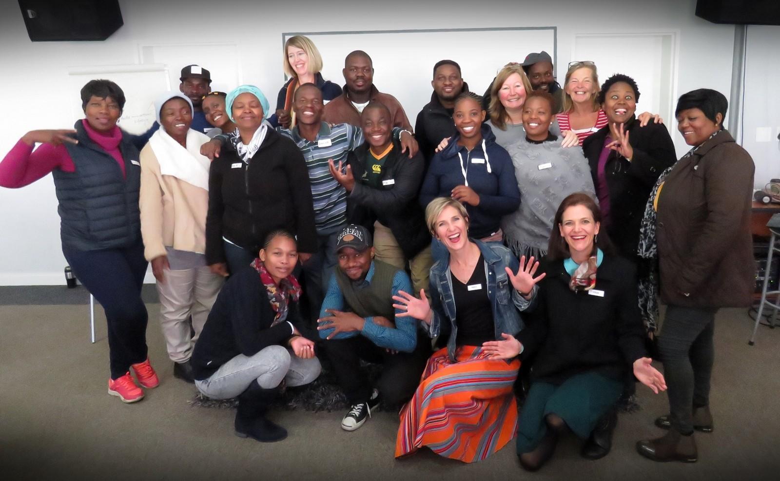 Creativity Wake-Up group photo with Rays of Hope team