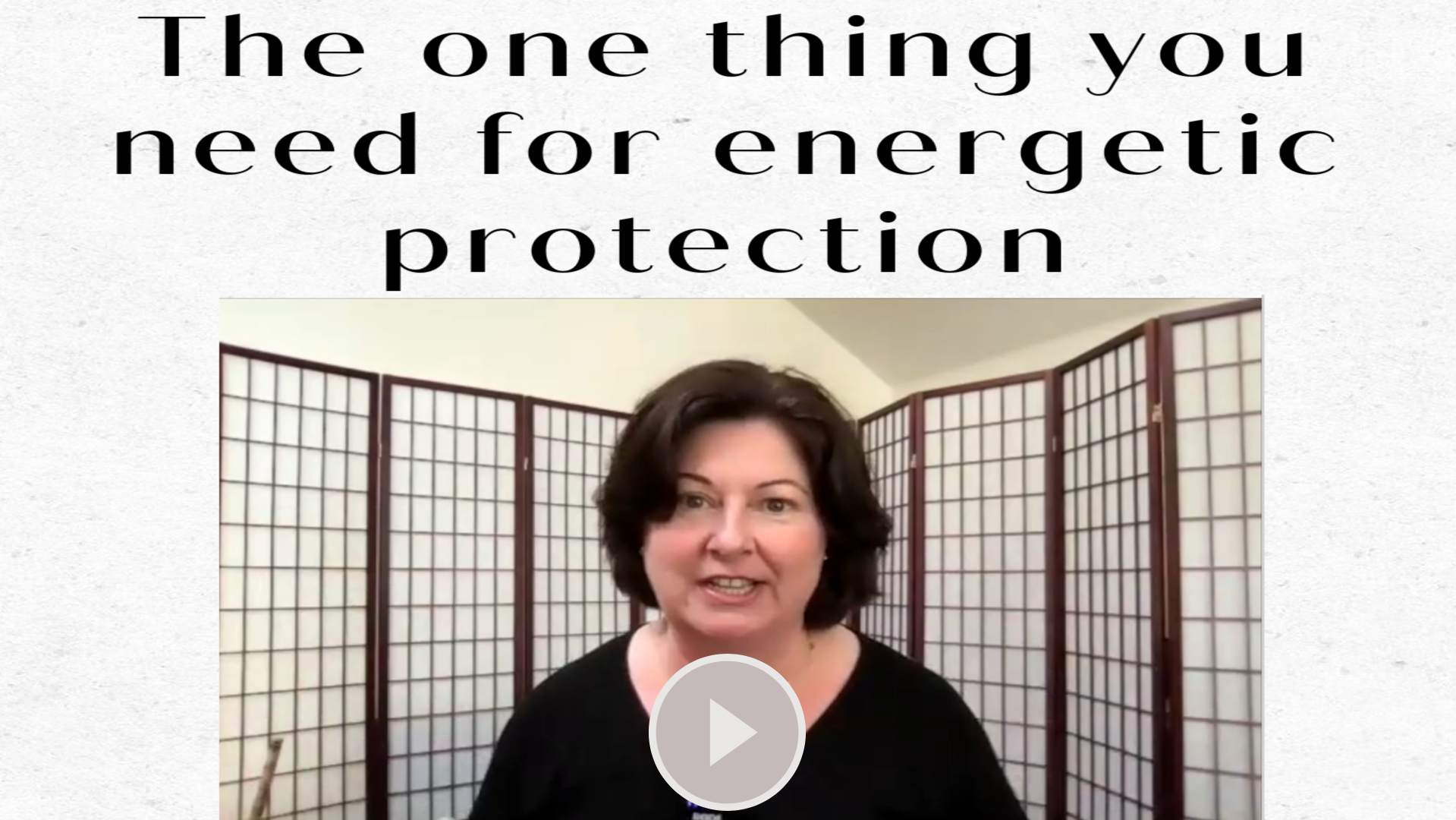The one thing you need for energetic protection Maria Furlano Instagram