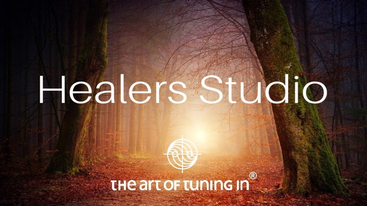 Logo Healers Studio The Art Of Tuning In Log in page