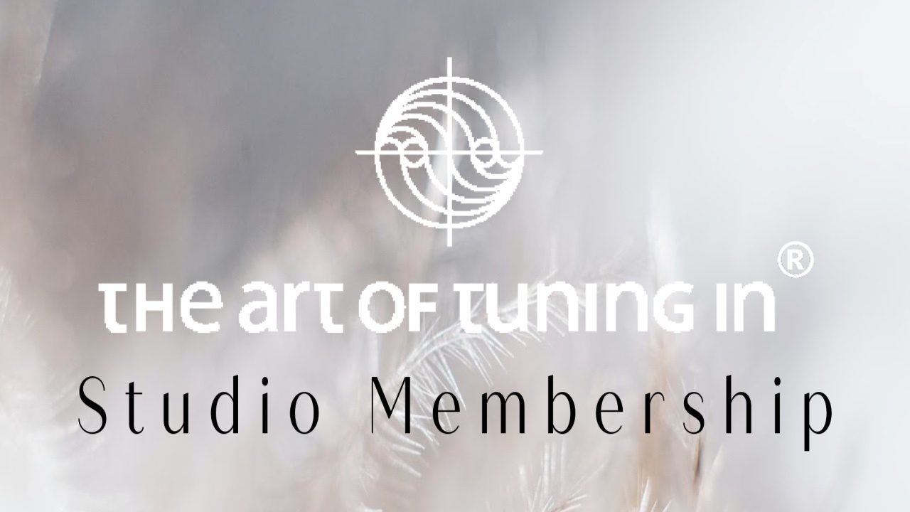 The Art Of Tuning In Program Maria Furlano pink lake and mountains
