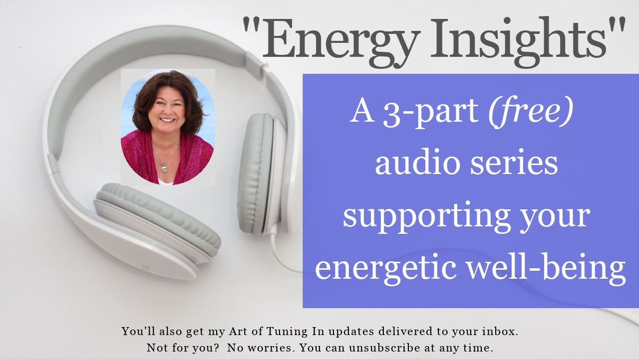 Energy insights 3 part audio series with Maria Furlano