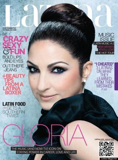 Gloria Estefan para Latina Magazine