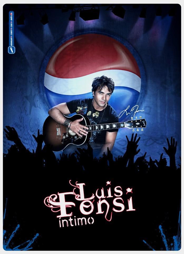 Luis Fonsi con Pepsi