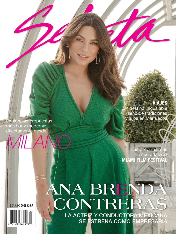 Ana Contreras Portada Revista Selecta
