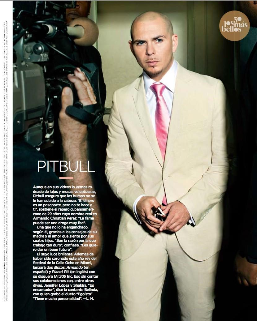 Pitbull en People en Español
