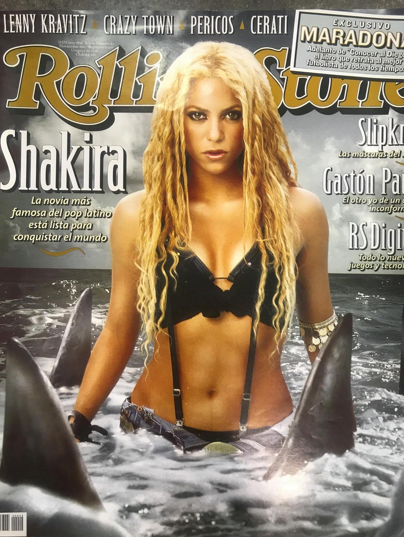 Shakira The Rolling Stone
