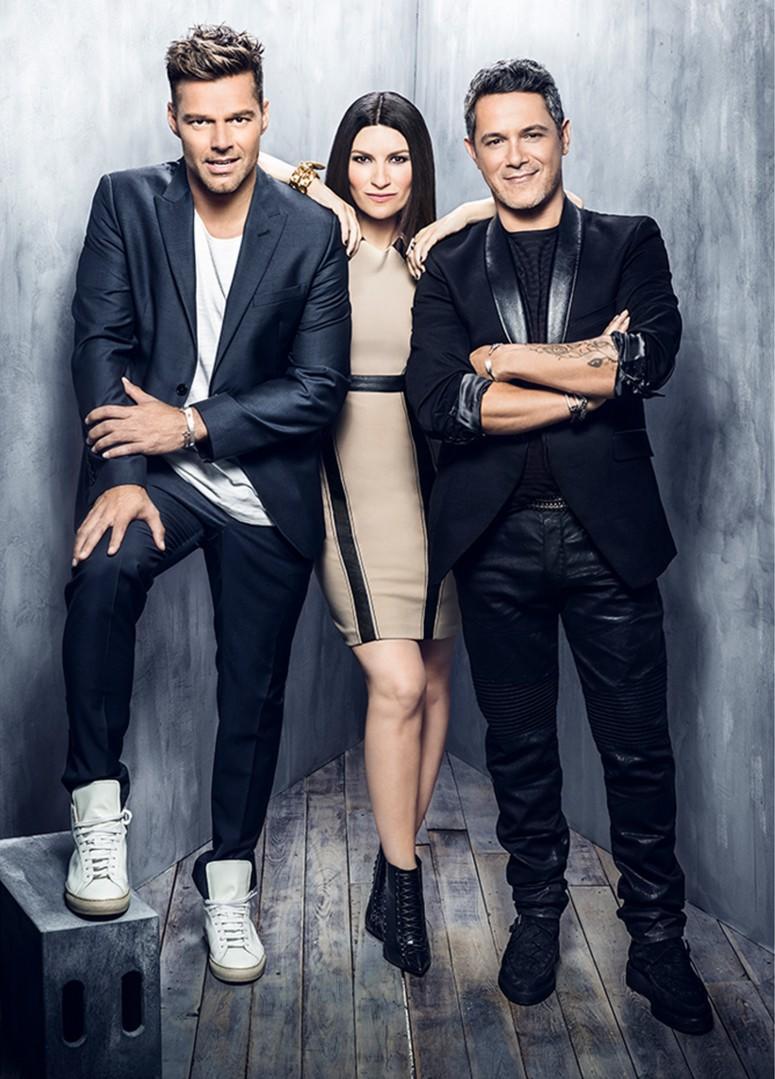 Ricky Martin, Laura Pausini y Alejandro Sanz en People en Español