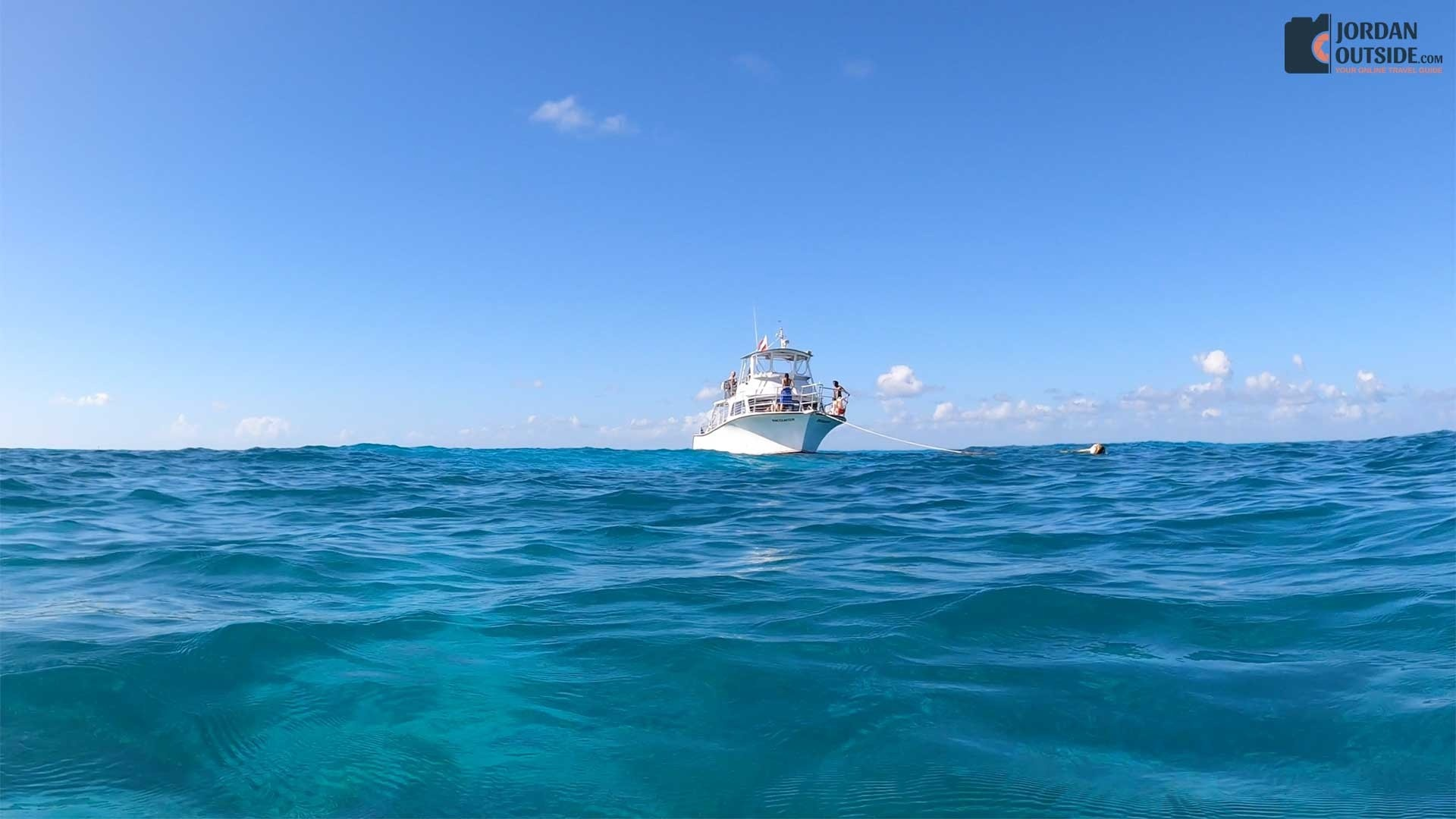 Snorkeling boat from John Pennekamp Coral Reef State Park