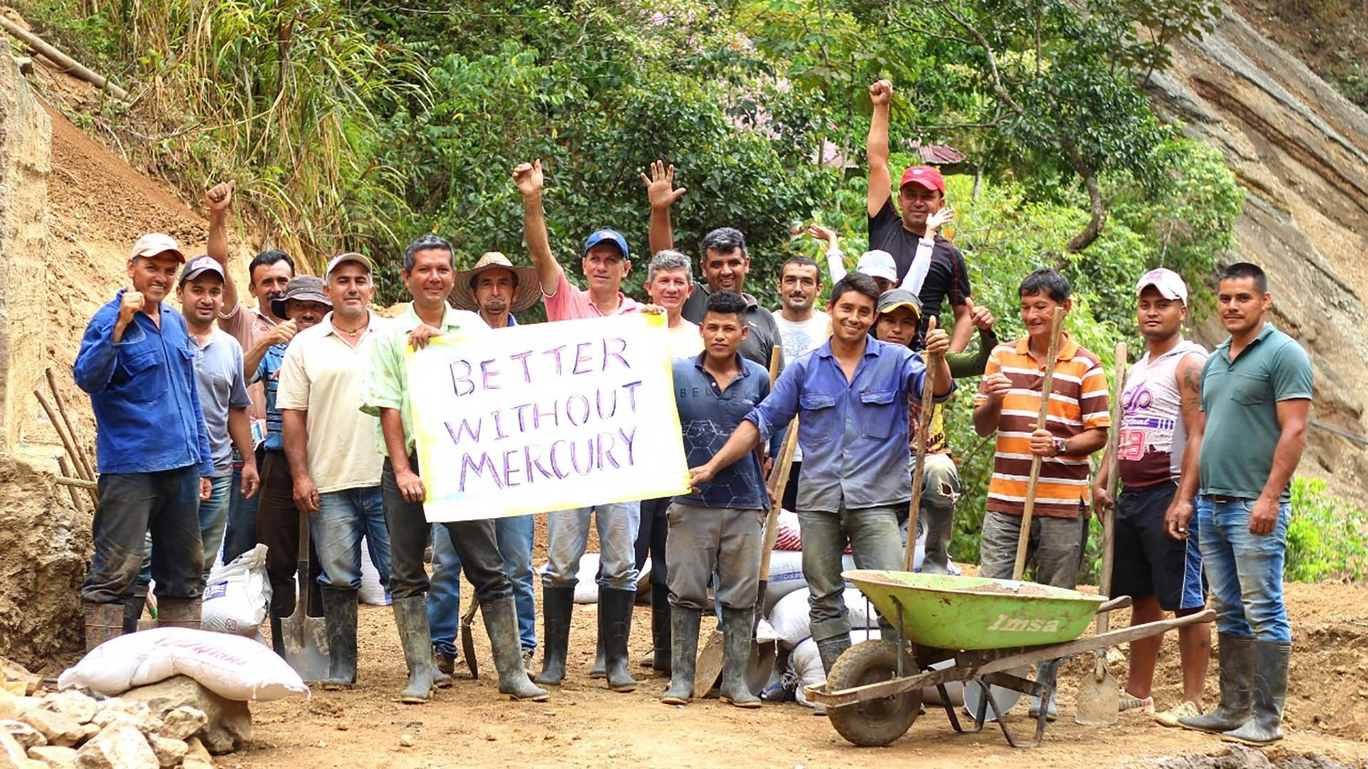 Gold mining without mercury group project