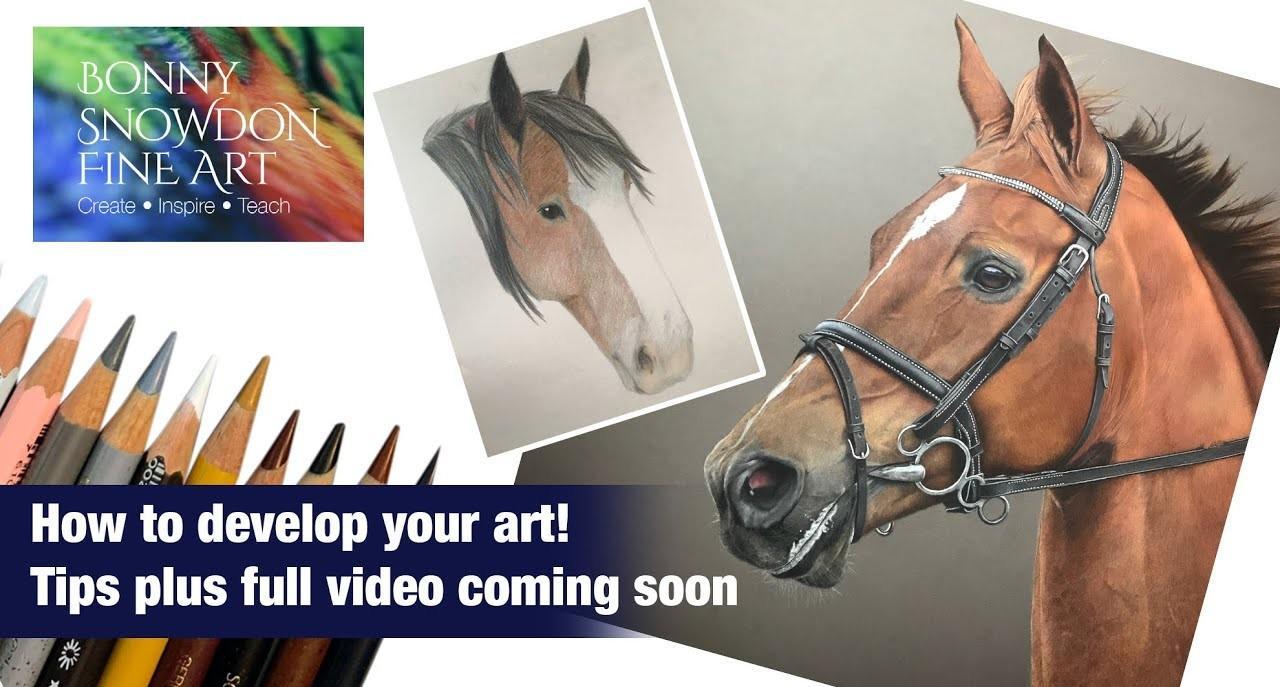 Tips for Developing Your Art - YouTube Library - Bonny Snowdon Fine Art