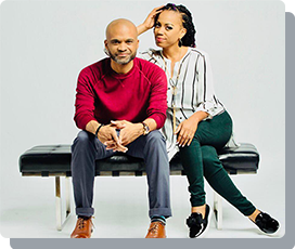 Entrepreneur couple O.L. and Sway Buckley