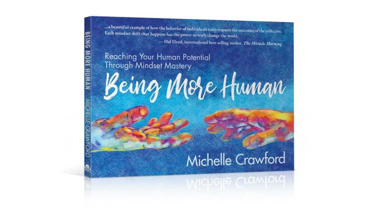 Being More Human book