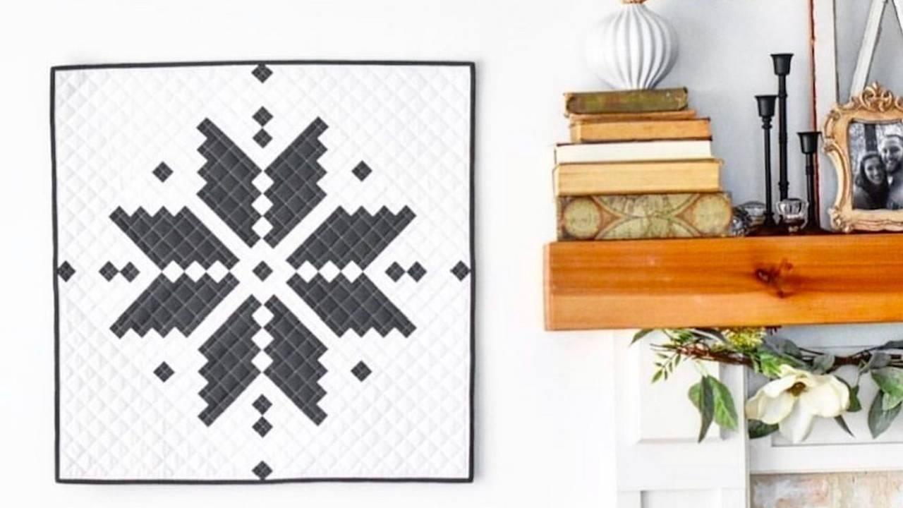 Quilters Candy Membership Knitted Star Quilt Pattern