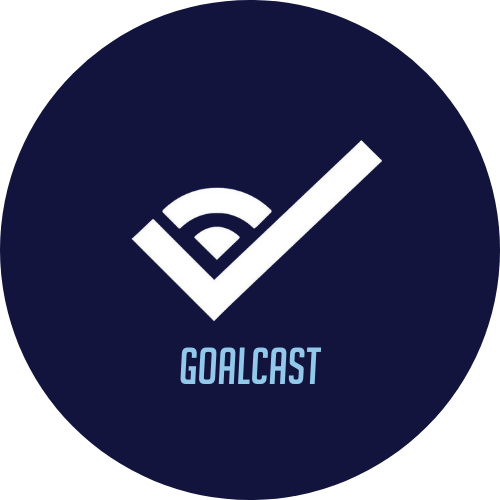 Goalcast Logo Featuring a link to Unstoppable Tracy's Speaker Slam speech