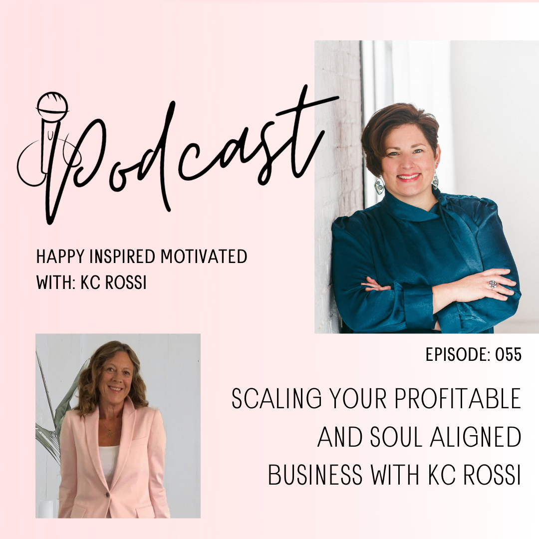 Kc Rossi on Happy Inspired Motivated