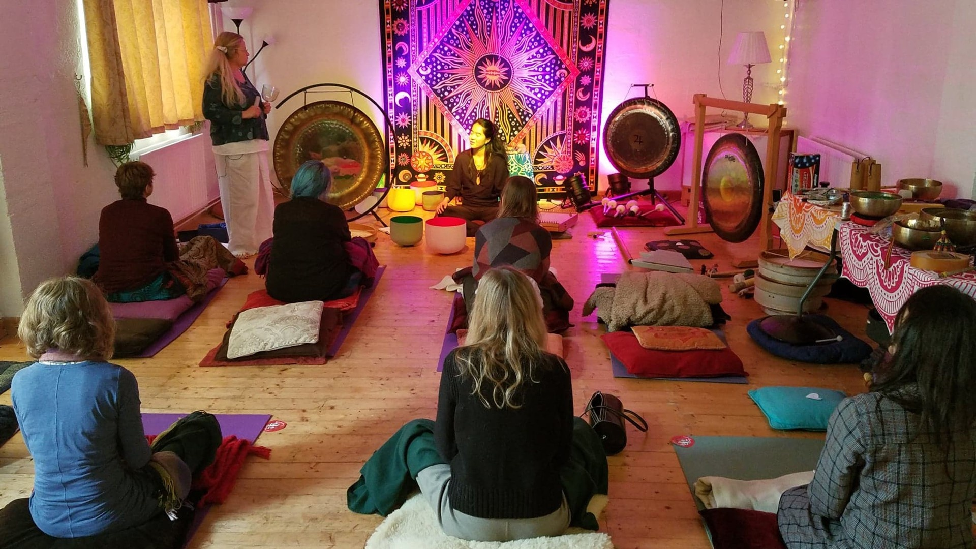 Level 2: Practitioner Diploma in Integral Sound Healing: Multi-Instrument Course (Groups)