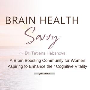 Brain Health Savvy FB Group