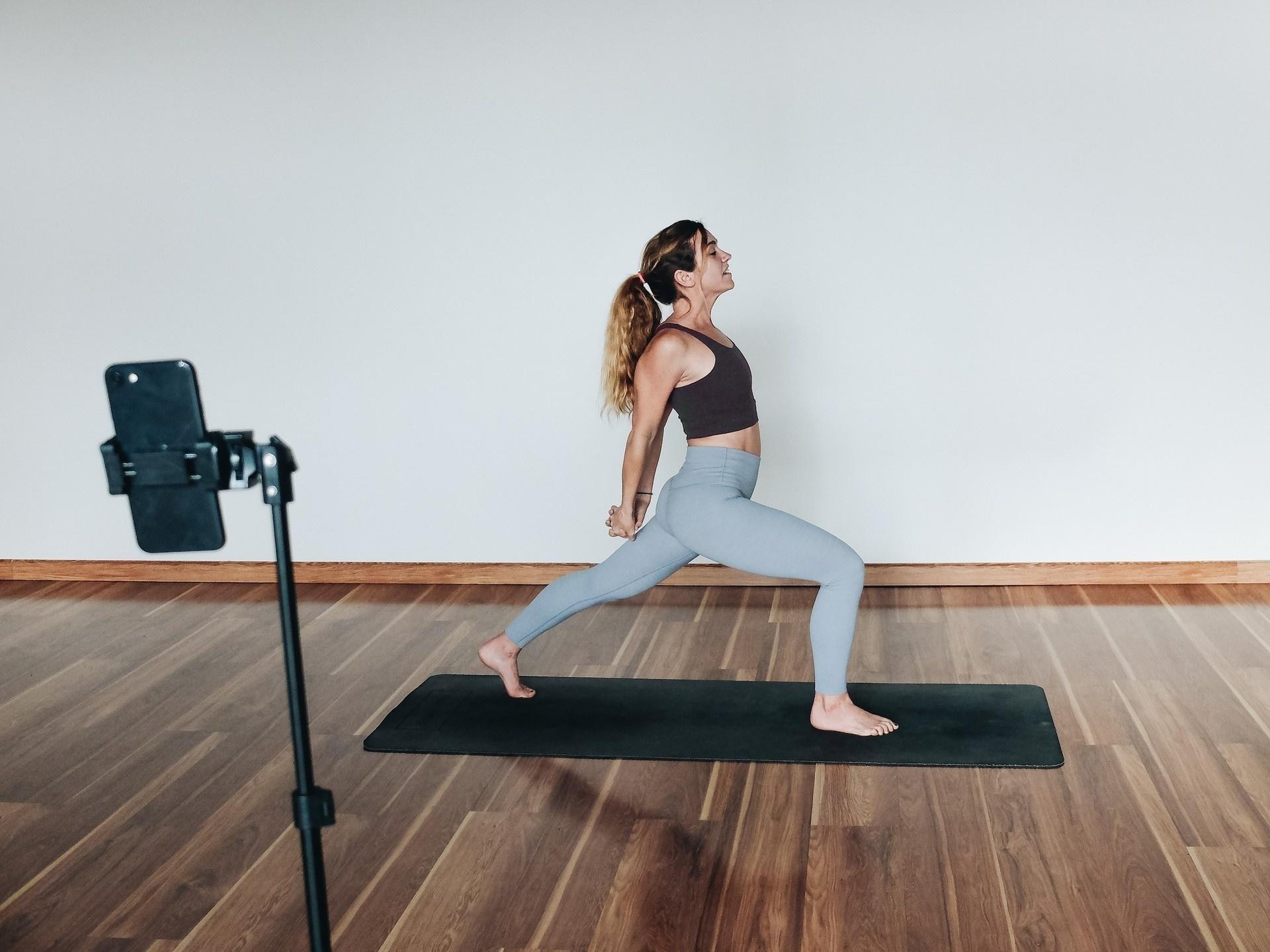 Jamie live streaming yoga