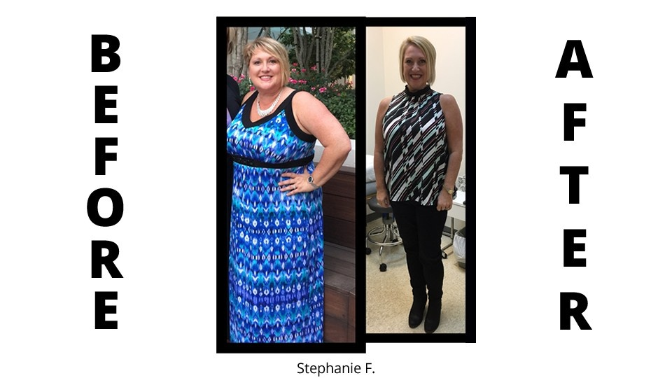 weight loss program before and after picture