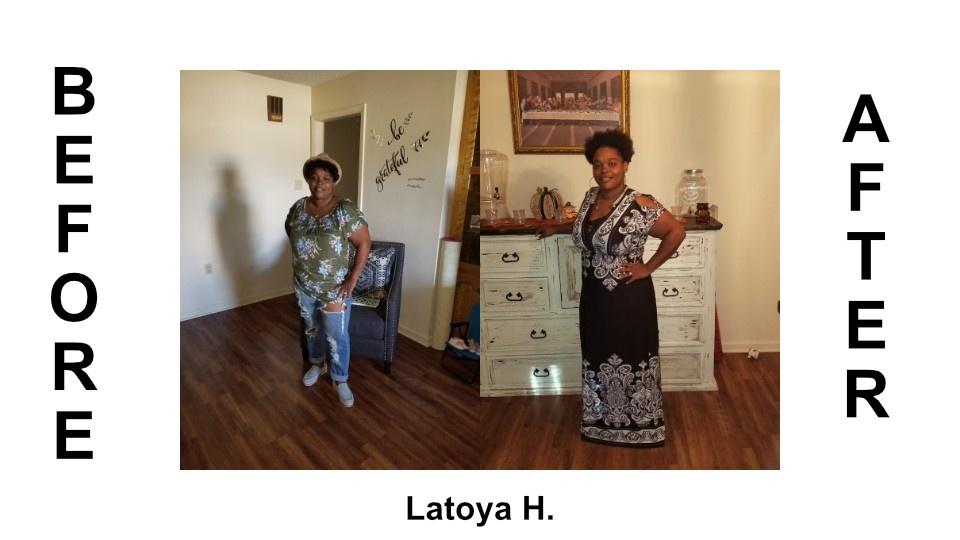 weight loss program transformation