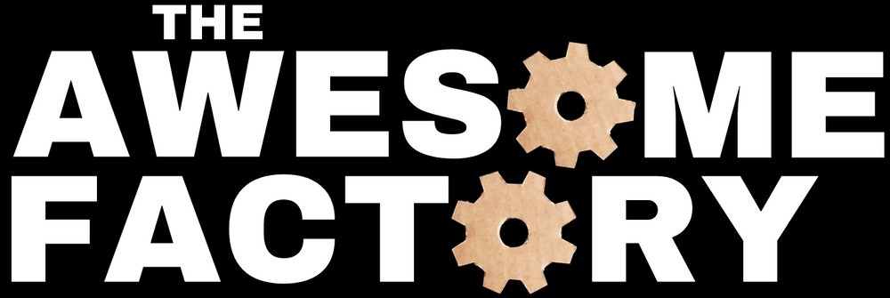 The Awesome Factory footer logo
