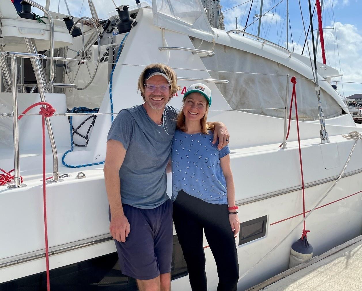 Erik Orton, Emily Orton, boat, marina, dockside, sailboat, adventure, travel, learning, growing, retreat, sail