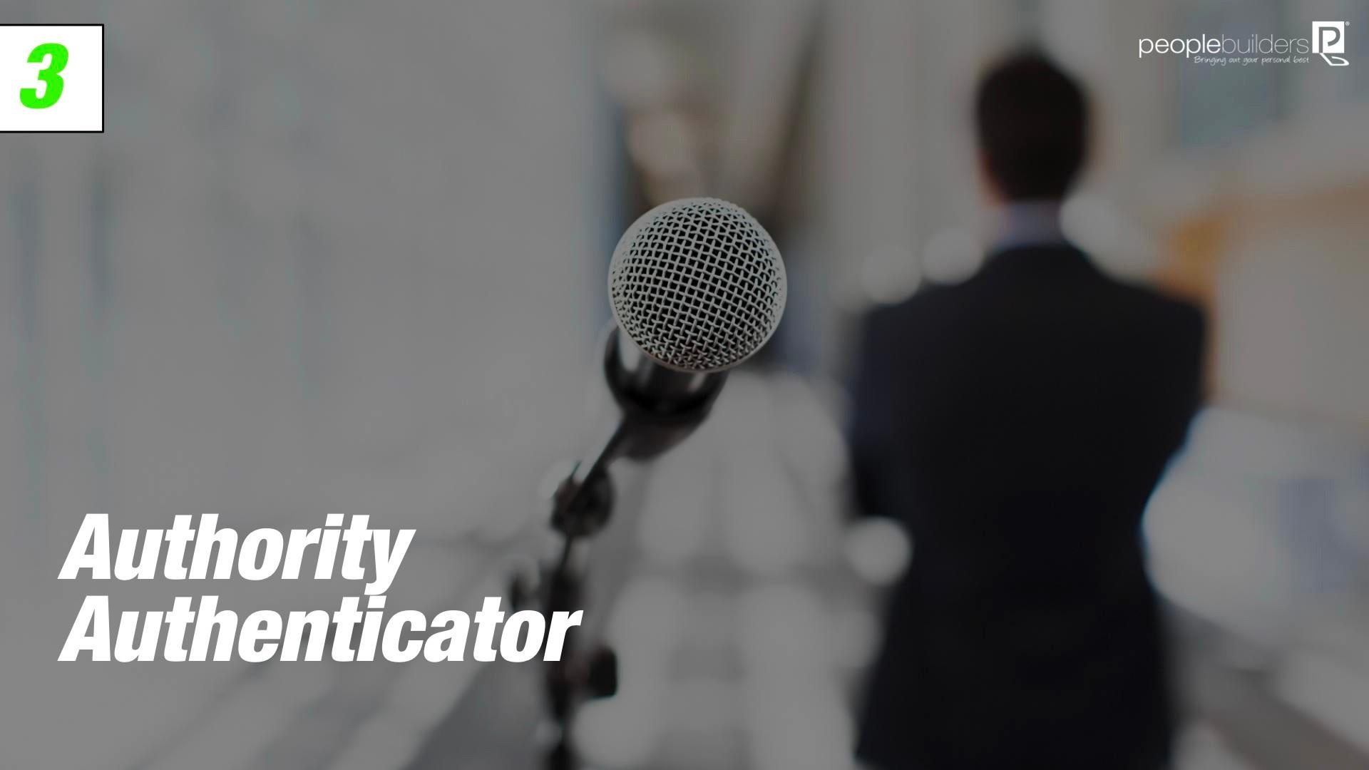 Authority Authenticator