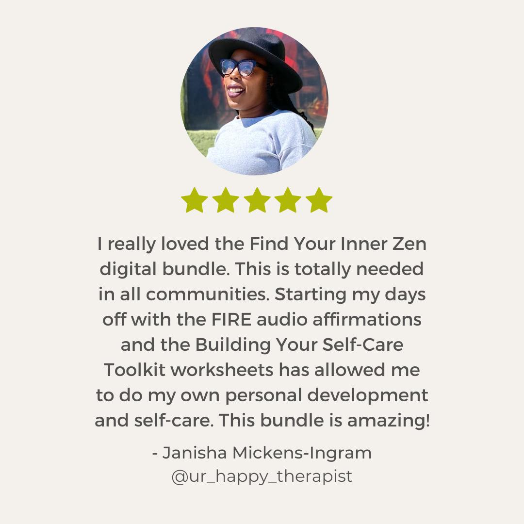 Find Your Inner Zen Testimonial
