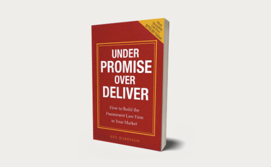 Under Promise Over Deliver book