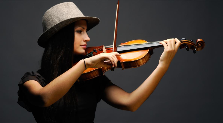 Advanced Violin Student