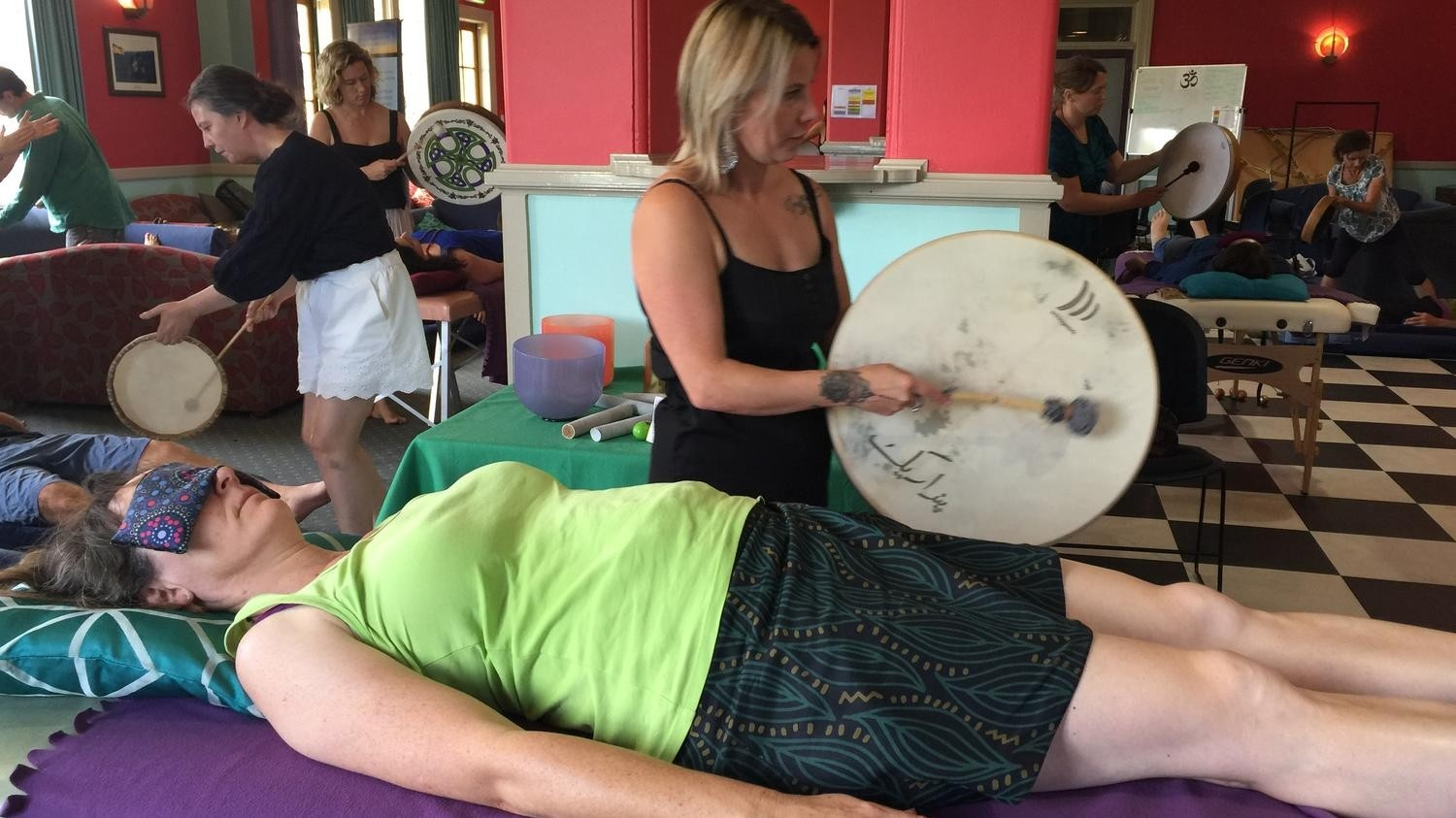 Sound Healing with Rhythm and Drums