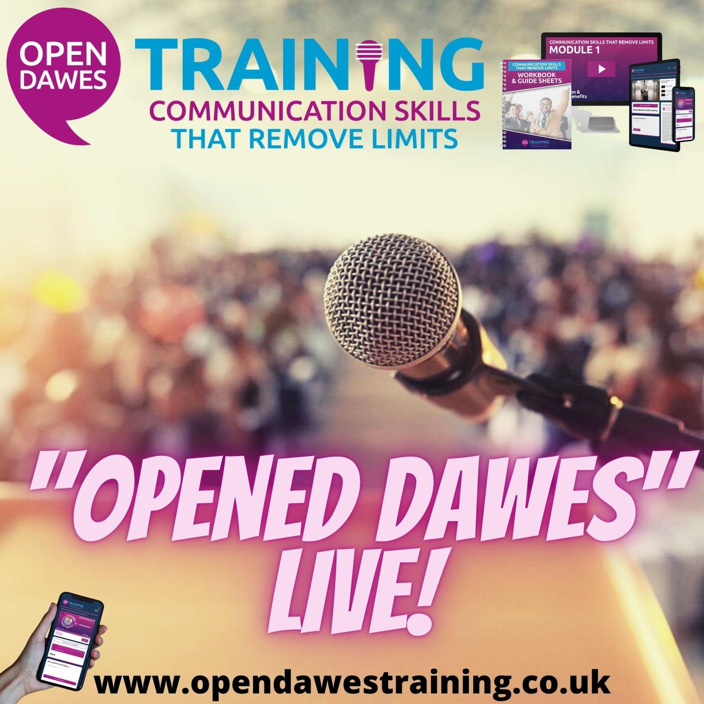 opened dawes live