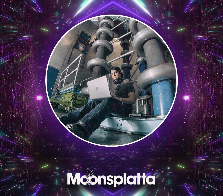 EDM artist Moonsplatta at the Producer Dojo music label.