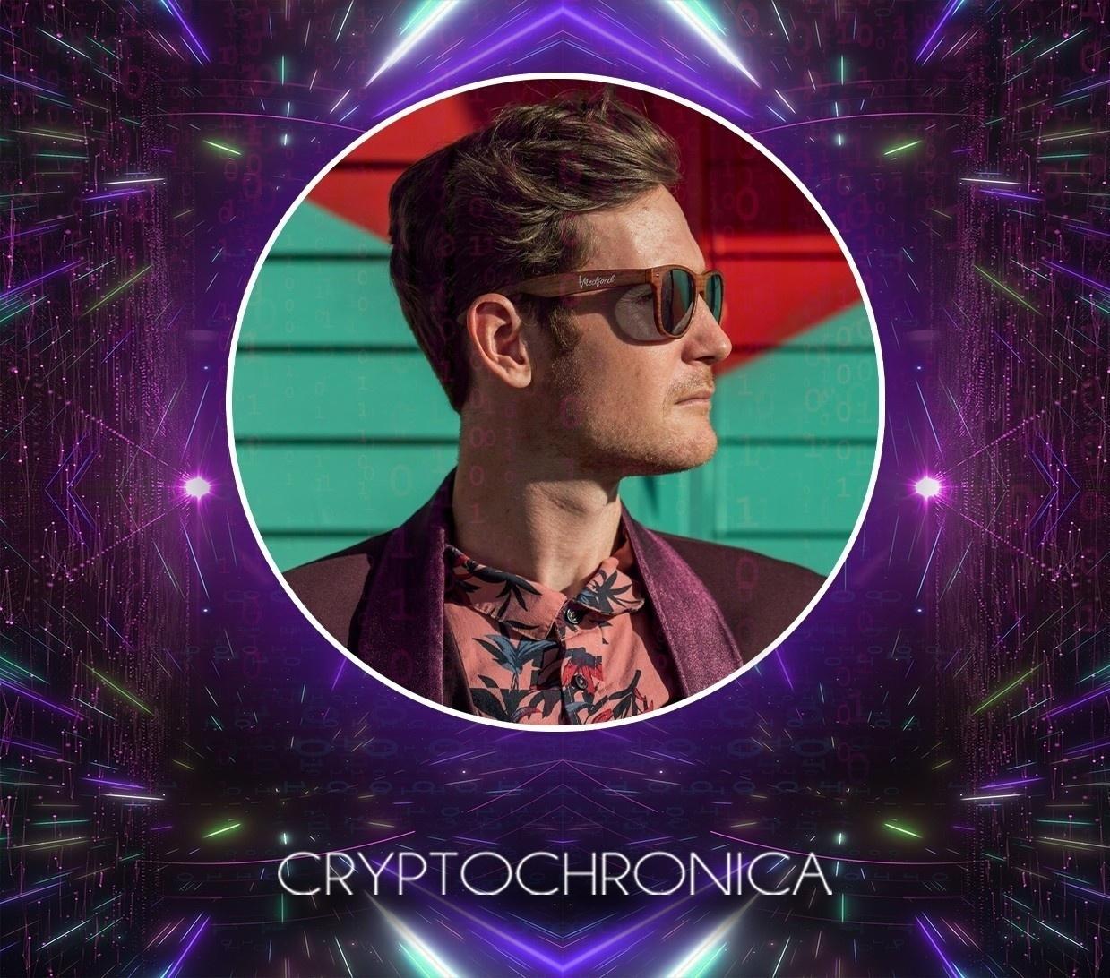 EDM artist Cryptochronica at the Producer Dojo music label.