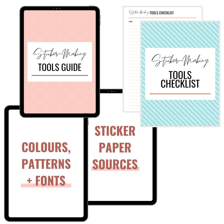 DIY Sticker Guide