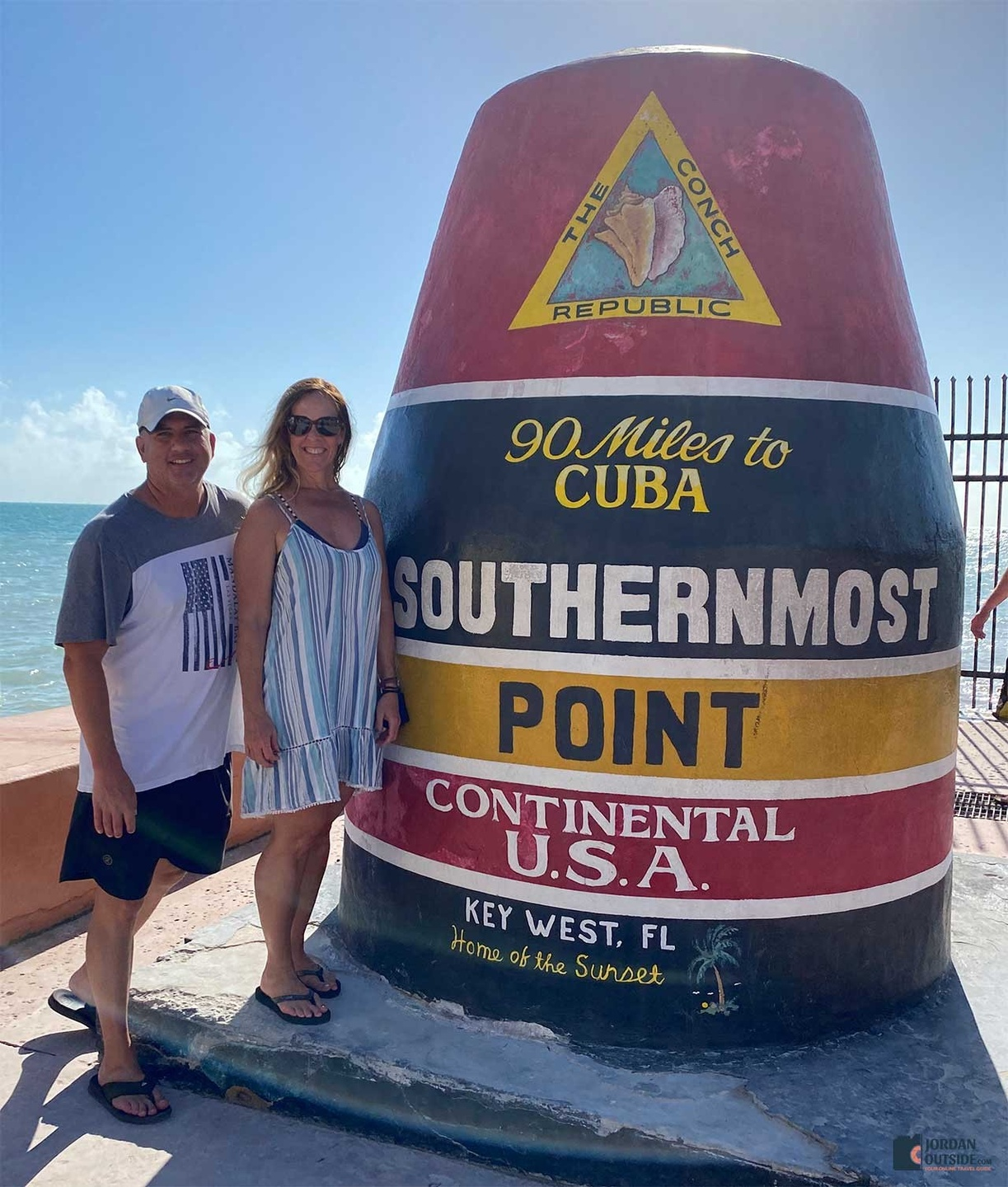 90 Miles to Cuba Monument