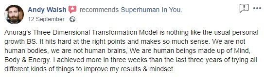 Superhuman In You Review