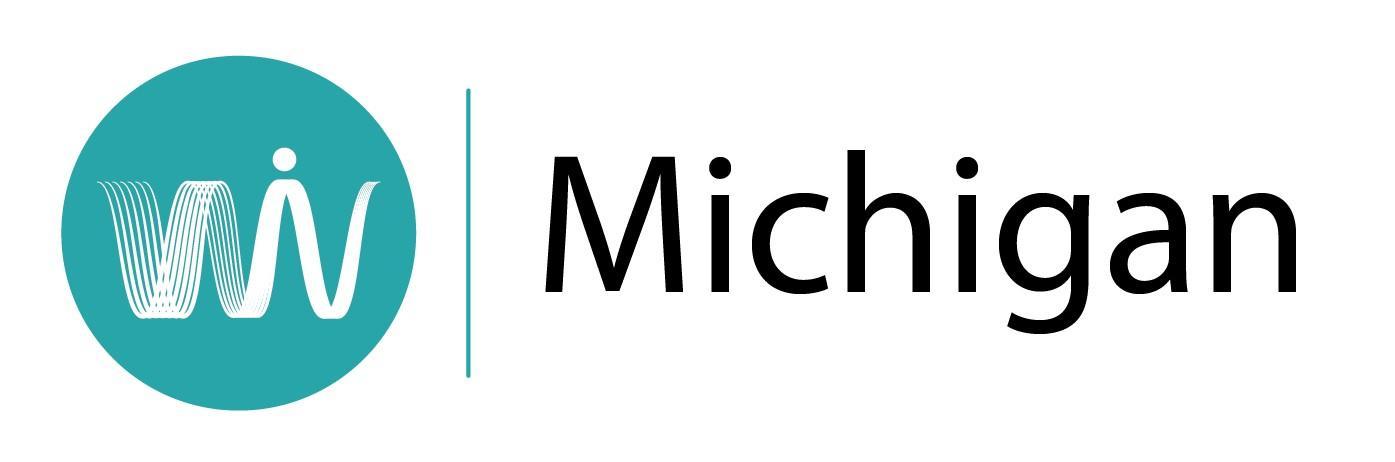 women in voice Michigan logo