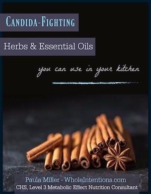 black cookbook cover with cinnamon sticks