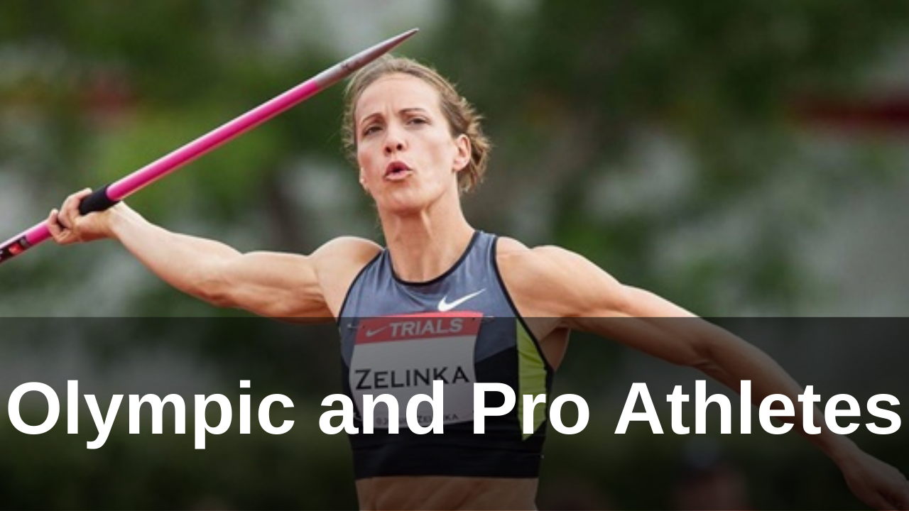 Jessica Zelinka - Olympic athlete - heptathlon