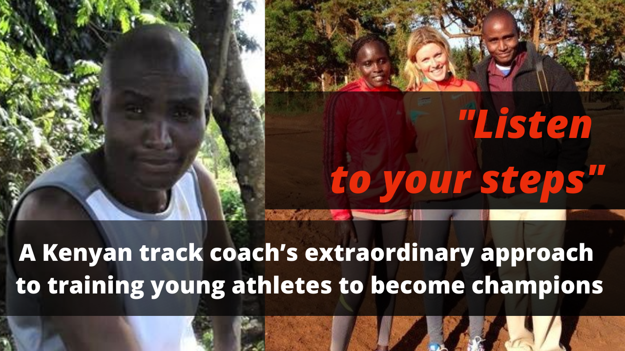 Kenyan track coach's approach to training athletes